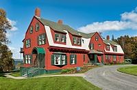Roosevelt summer cottage museum, Campobello, New Brunswick, Canada