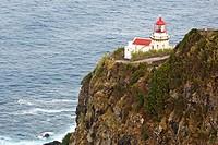 Lighthouse Ponta do Arnel / Sao Miguel Island / Azores / Portugal