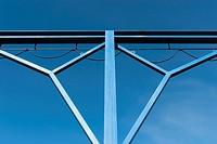 Detail of metal junction