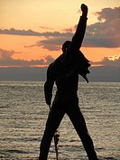 Freddie Mercury Statue, Montreux, Switzerland