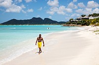 Ffyres Bay, Antigua with Coco Bay hotel and Pearns Point