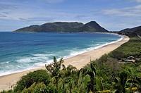Armacao beach, Florianopolis, Santa Catarina, Brazil.