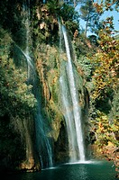 Waterfall  Country: France, Region: Provence, City: Sillans  V4FRA132