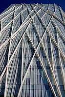 telefonica´s building, Forum site, Barcelona, Catalonia, Spain.