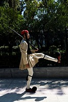 Greek guard, fustanella, Athens, Greece