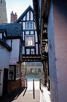 Abbot Reginald´s Gateway, Evesham, Worcestershire, England, United Kingdom