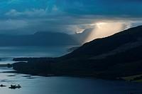 Dramatic light at Glencoe, Scotland