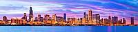 2010 Chicago skyline, Illinois, IL
