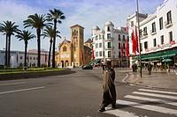 Muley El Mehdi square, Tetouan Morocco