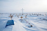 grave yard at the north pole