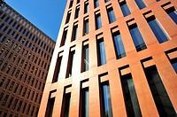 Ciutat de la Justícia (City of Justice) by David Chipperfield Architects and Fermín Vázquez, Barcelona, Catalonia, Spain
