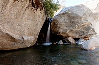 Waterfall near Buckeye Flat in Sequoia National Park