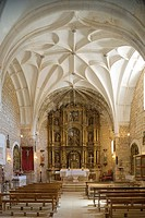 Church, Ahedo de Butrón, Burgos province, Castilla-León, castille-Leon, Spain