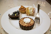 Creations from the dessert buffet at Caesars Palace, Las Vegas, Nevada, United States