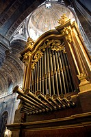 Old pipe organ, Basilica da Estrela, Lisbon