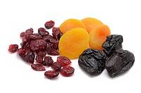 Dried Fruit, Cranberries, Apricots, Prunes