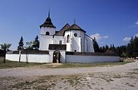 The open air museum of architecture of Liptov´s region in Pribilina Muzeum Liptovskej dediny, Slovakia