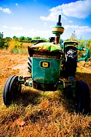 Old Tractor  LLeida  Spain