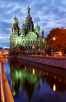 The Church of the Savior on Blood, also called the Resurrection church, Saint Petersburg, Russia