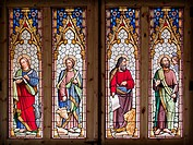 One of the windows of the Cathedral of Santa Maria de Urgel, La Seu D´Urgell