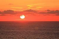 sunset in Punta Frouxeira  Valdoviño