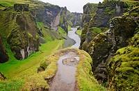 Fjardrargljufur Gorge, Iceland