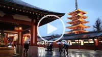 Senso_ji Temple,Five Storied Pagoda,Asakusa district,Tokyo, Japan, Asia