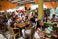 Hippiemarket Las Dalias, Ibiza, Balearic Islands