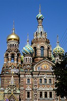 Russia, St  Petersburg,The Church of Our Savior on the Spilled Blood Where Tsar Alexander II was assasinated in 1881