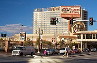 Main Street Station casino in downtown Las Vegas