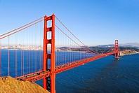 The Golden Gate Bridge, California, USA