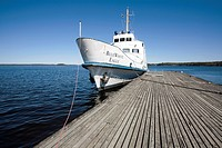 Ship at harbour, Rauha Lappeenranta Finland