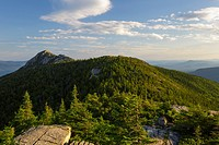 Mount Chocorua from Middle Sister Mountain in Albany, New Hampshire USA during the summer months