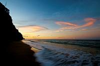 Sunset at the beach  Paria Peninsula, Eastern Venezuela