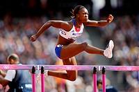 03 08 2012 Olympic Games, London, England, Athletics, NANA DJIMOU