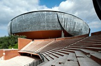 Auditorium Parco della Musica, designed by architect Renzo Piano  Rome, Italy, Europe