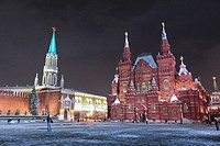 The State Historical Museum Moscow , Russia  Europe