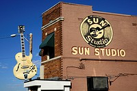 Sun Records Music Studio Elvis Presley Memphis Tennessee TN