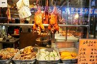 Peking style roasted ducks