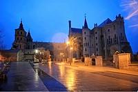 Palacio Episcopal de Astorga, Astorga, León, Castilla y Leon, Spain, Epaña, Europa, Eurpe