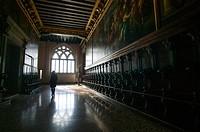 Corridor in Palazzo Ducale, Venice, Italy