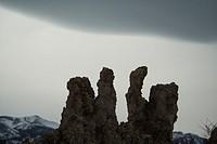 Tufa towers in Mono Lake Tufa State Natural Reserve at Mono Lake, in eastern California, USA