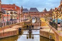 Koppelpoort, Amersfoort, Utrecht, Netherlands.