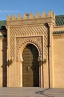 Mausoleum of Mohamed V, Rabat, Morocco.