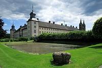 Germany, Hoexter, Weser, Oberwaelder Land, Weserbergland, Teutoburg Forest / Egge Hills Nature Park, East Westphalia, North Rhine-Westphalia, NRW, cas...