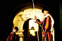 Famous Swiss Guard in Vatican.
