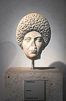 Portrait of Domitia, about 96 AD, national museum of Rome (museo nazionale romano), Rome, Italy.