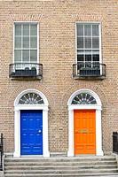 Georgian doors in Dublin.