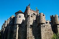 Gravensteen (Castle of the Counts). Ghent, West Flanders, Belgium.