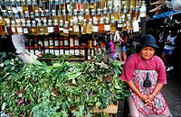 herbal, mercado ver o peso, belem, state of para, amazon region, brazil, south america.